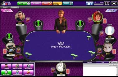 Ivey Poker on facebook